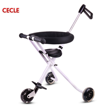 New product 2017 push car 3 wheel car three wheeler baby tricycle
