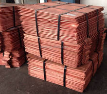 Copper Cathode 99.99% famous manufacturer from China