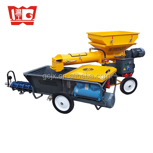 Cement Mortar Mixing Pumping Screeding Grouting Spraying Wall Plastering Rendering Machine