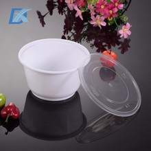 2017 Custom Made Food Grade Disposable Plastic Salad Bowl with Lid