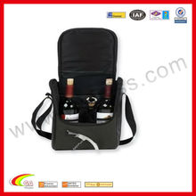 beautiful wine case faux leather wine holder 2bottles wine carrier wholesale 2013