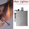 UCHOME factory sell slim lighter,stainless steel million times matches