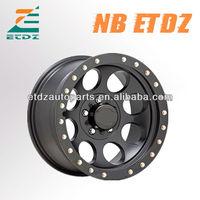 Popular 4x4 suv offroad car alloy wheel
