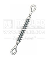6312-Forged Steel Wire rope Turnbuckle , eye and eye type HG-226