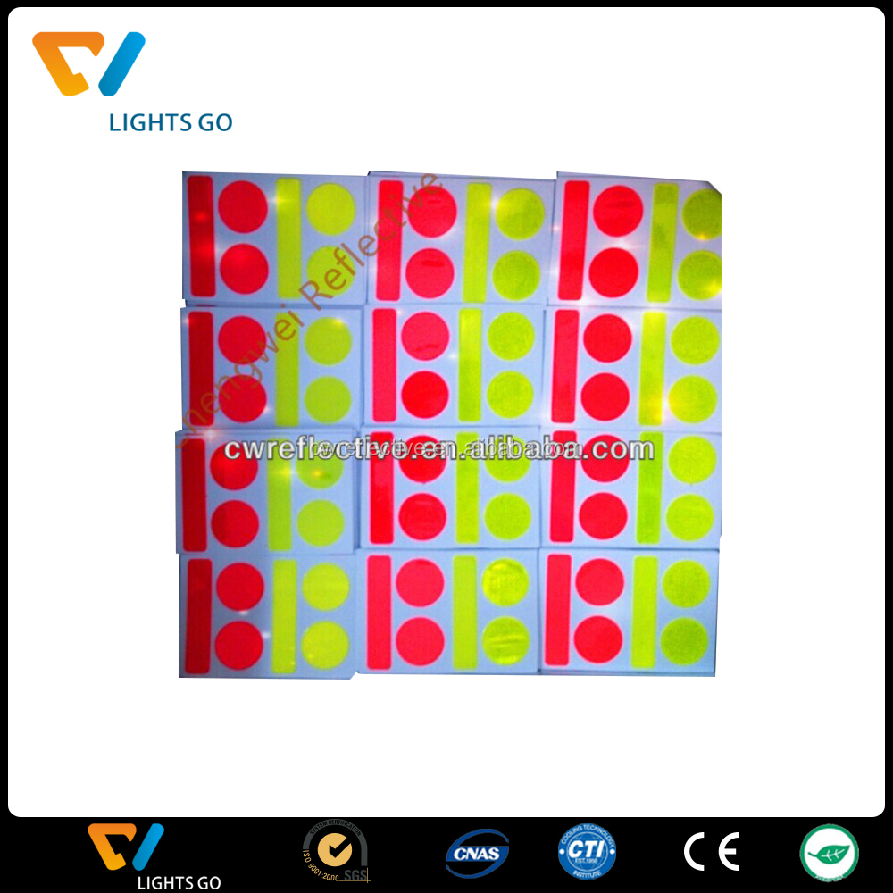 Colorful Reflective Safety Sticker for Bicycle Helmet.jpg