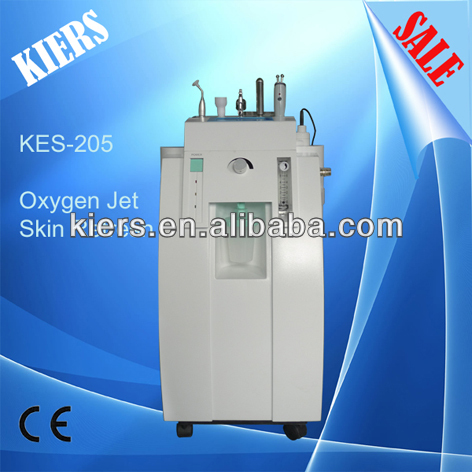 2014 HOT kiers-205 oxygen jet peel skin rejuvenation beauty equipment/water oxygen jet beauty machine