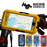 Shockproof&Waterproof IPX8 outdoor sports Bicycle Holder Case special for iPhone 4/4s/5/5s/5c