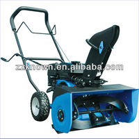 Powerful Gasoline Loncin snow blower snow thrower