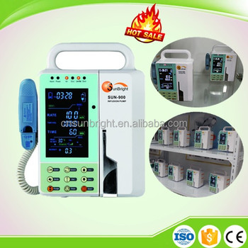 Top quality Veterinary Infusion Pump with big LCD screen