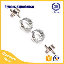 stainless steel double wheel torsion spring