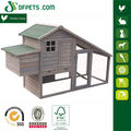 DFPETS DFC007 Wooden Chicken Coop With Nesting Box