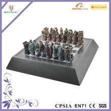 Resin Chess Game Set with Personalized Chessmen