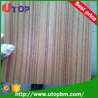 3.2mm AA grade poplar core teak plywood from Linyi