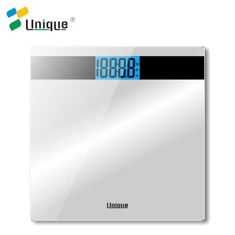 180kg 0.2lb 300*300*25 Super Thin Normal Step-on Tech Body Fit Electronic Digital Body Weight Bathroom Scale in Household Type