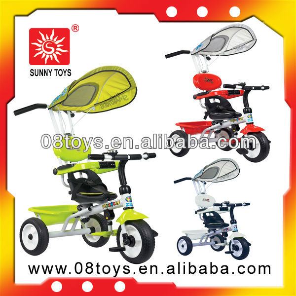 Bright baby tricycle