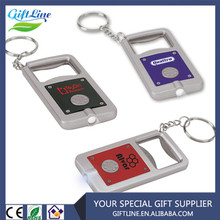 Promotional LED Bottle Opener Keyring