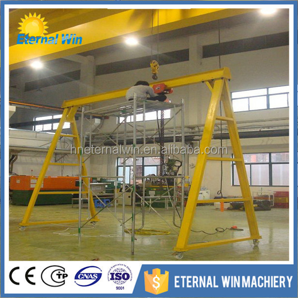 Top quality 10 ton 20 ton mobile gantry crane for sale