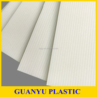 White PP Fluted Board for Printing, Sign Board