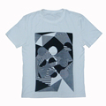 Custom clothing men printed t-shirts cheap t-shirts in buk plain china