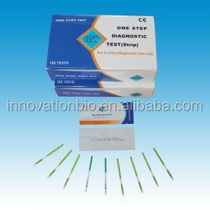 Fast CE approved diagnostic rapid test kit hcg pregnancy