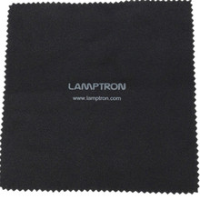High quality logo printed microfiber lens/eyeglass/glasses/screen cleaning cloth in roll