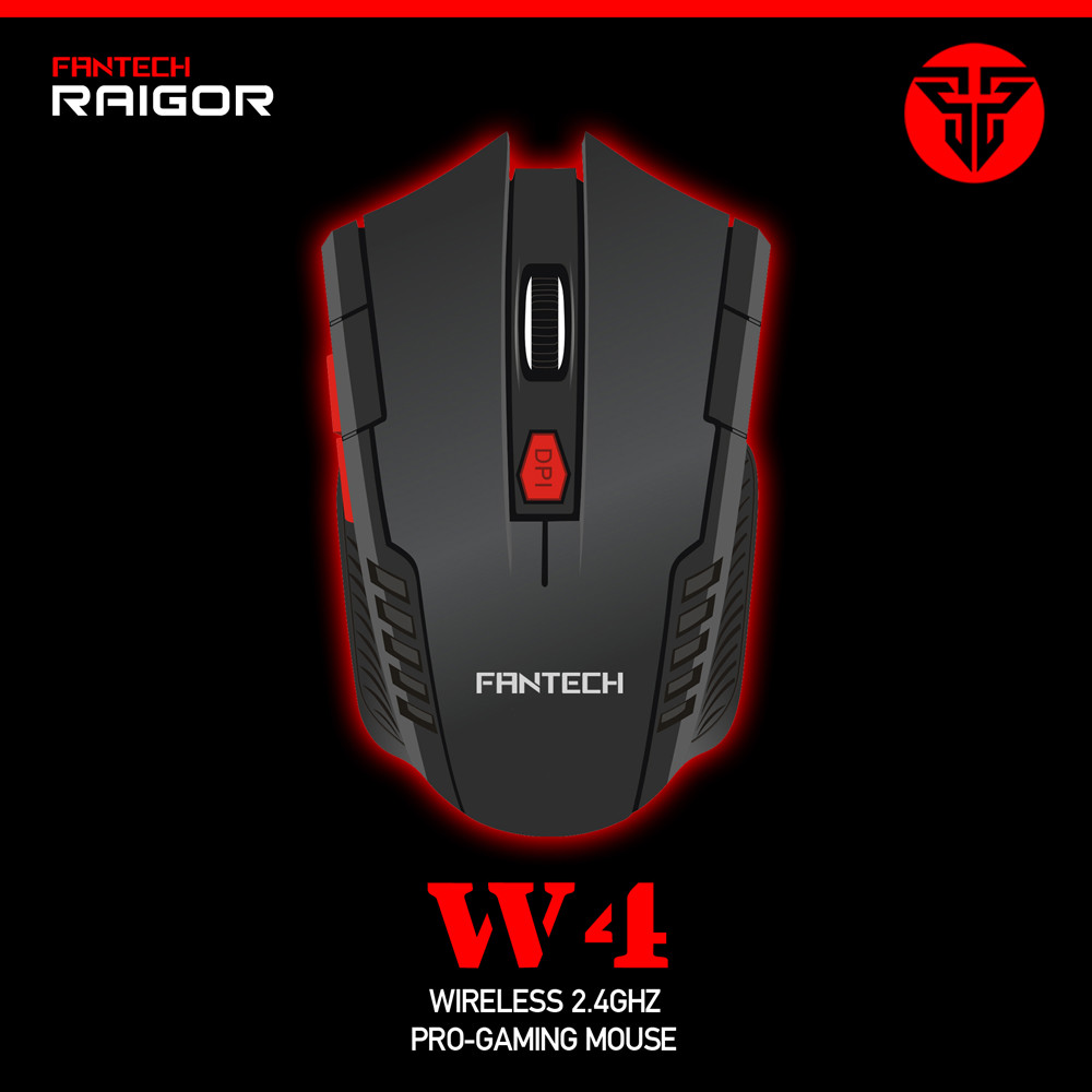 Best sale 2016 Fantech W4 wireless gaming mouse