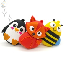 Bulk Cheap price cute design oem pvc owl penguin fox bee animal 2.0 usb flash drive