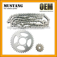 High Performance CD70 C45 Carbon Steel Chain Sprocket Kit For Honda Motorcycle