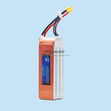 Lipo Battery 5000mAh 11.1V 3S 40C Burst 75C RC lithium polymer Battery Pack for Hobby UAV