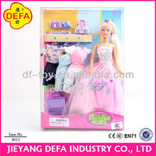 11.5 Inch Fashion Plastic doll