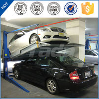 PJS Two post mini lifting car lift/used 2 post car lift for sale/parking solution