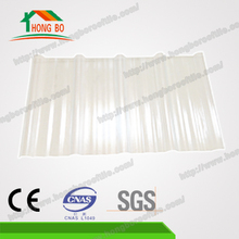 Bulk custom Excellent Anti-UV Ray transparent sinusoidal roofing sheet