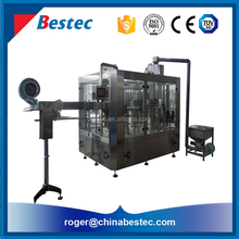3-in-1 drinking bottled mineral water bottling plant machinery cost