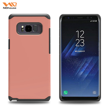 Slim tpu pc 2 in 1 case for samsung galaxy note 8 cover,note 8 cover