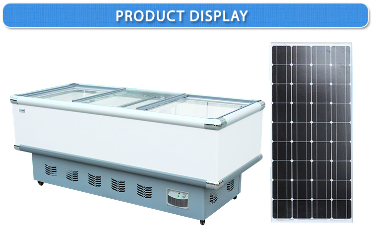 BD- BC 60L to 350l 12V DC solar chest deep freezer lpg gas freezer