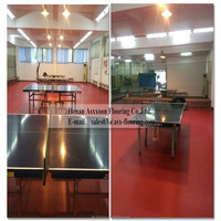 Sports Pvc Flooring/Table Tennis club Pvc Flooring/ indoor basketball court