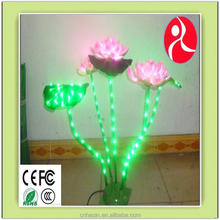 led green fluorescent tree