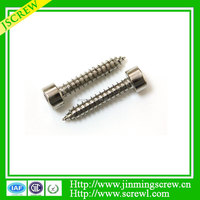 Hot selling Different types hex socket furniture screw