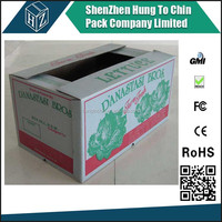 High quality carton waxed frozen food packaging