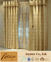 luxury embroidery curtain