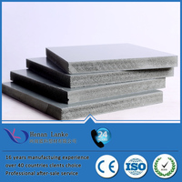 Eco-friendly recyle 30 times pvc plastic formwork for concrete
