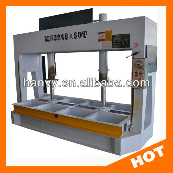 50T 80T Woodworking door press cold pressing machine