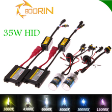 Fast shipping more color high power 35w 55w 75w 100w 100% AC DC led hid xenon kit slim digital canbus h4 h7 hid conversion kit