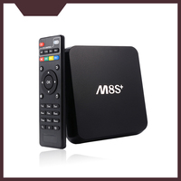 M8s+ Amlogic S812 Quad Core 2GB 8GB Android 5.1 Support 3D m8s plus Bluetooth 4.0 internet tv box