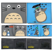 Totoro Cute Short Wallet Card Holder Coins Purse Anime Bags