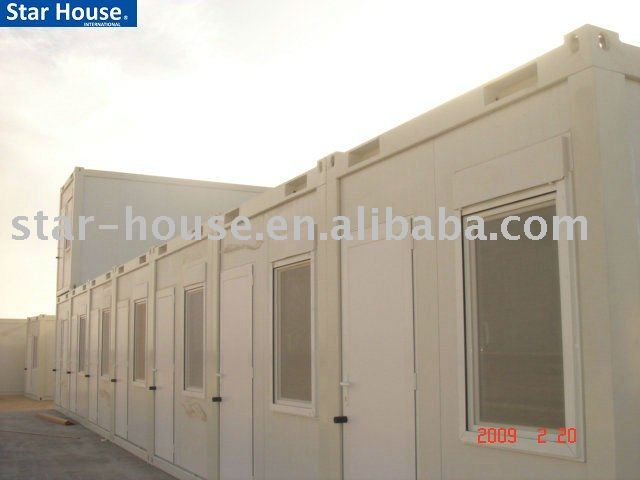 armored container container living quarter