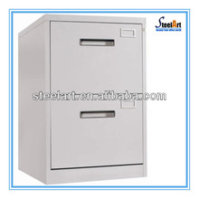 Power coating chrome filing cabinet