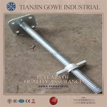 construction screw jack for civil engineering