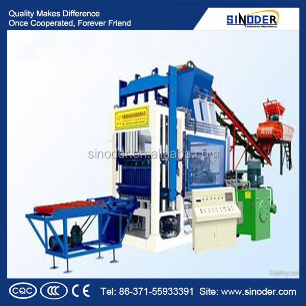 Advanced technology mud brick making machine /brick machine used in building , road paving, city construction