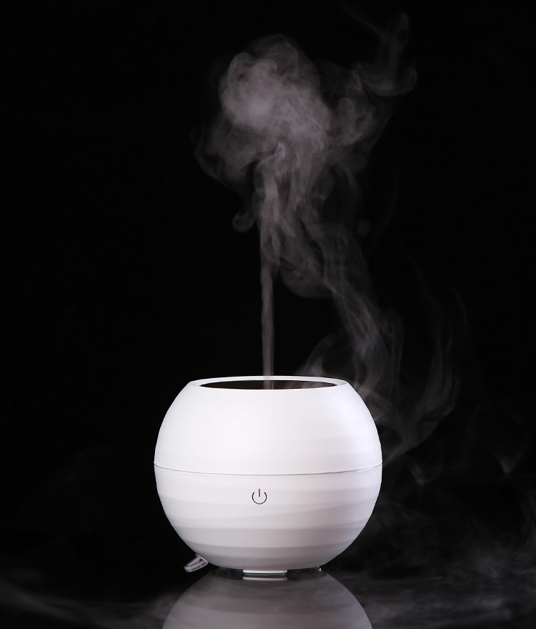 Hot sale korean air perfume humidifier led light diffuser